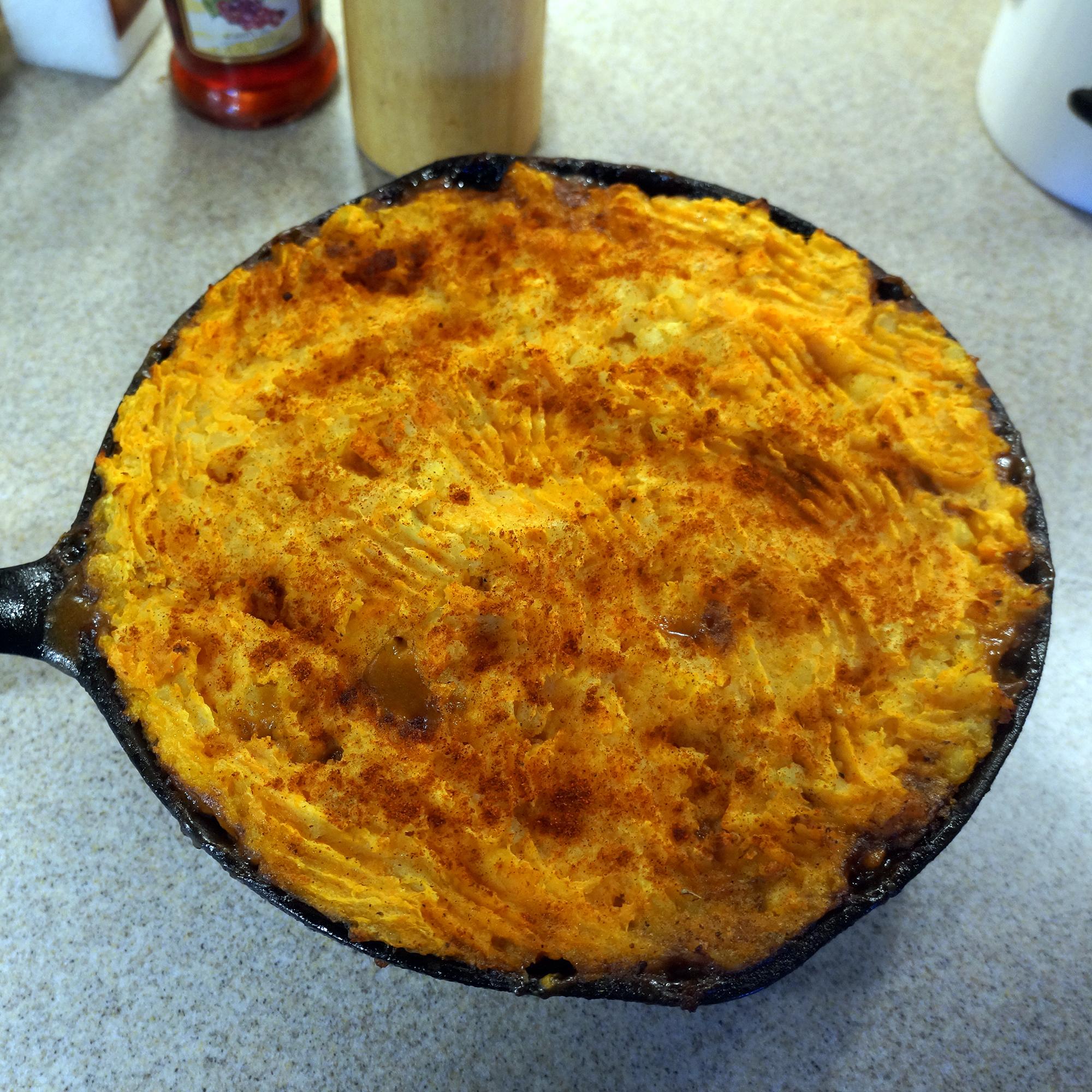 skillet cottage pie