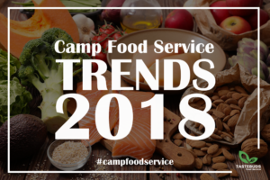 Summer Camp Food Service Trends 2018