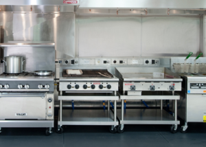 cooking equipment summer camp food service
