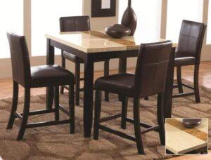 larissa dining set counter height table