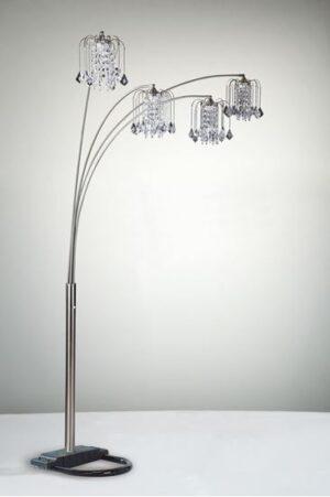 Rain Drop Arc Floor Lamp