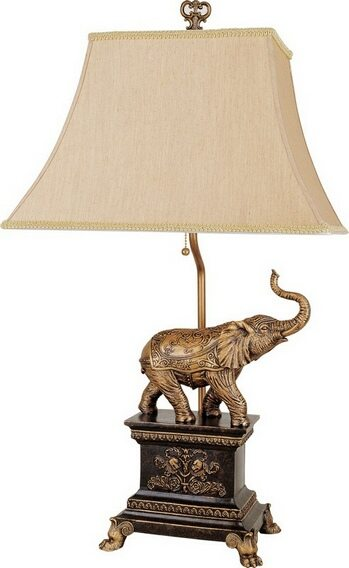 Elephant Accent Table Lamp