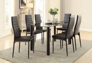 florian 7pc dining set