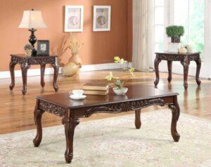 Cherry Coffee Table Set