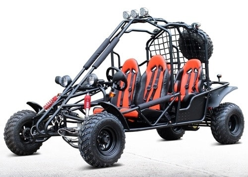 jaguar 200cc gokart off road 4 seat