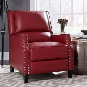 alston pushback recliner red