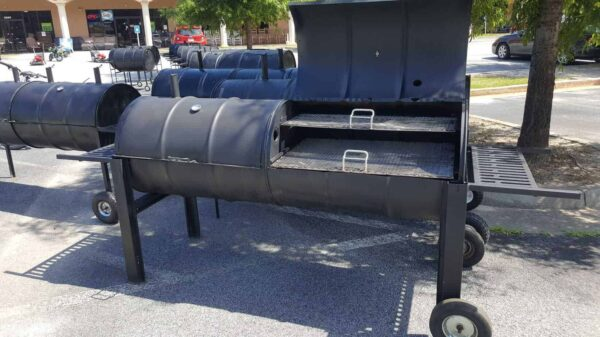 double barrel grill