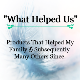 """What Helped Us"""