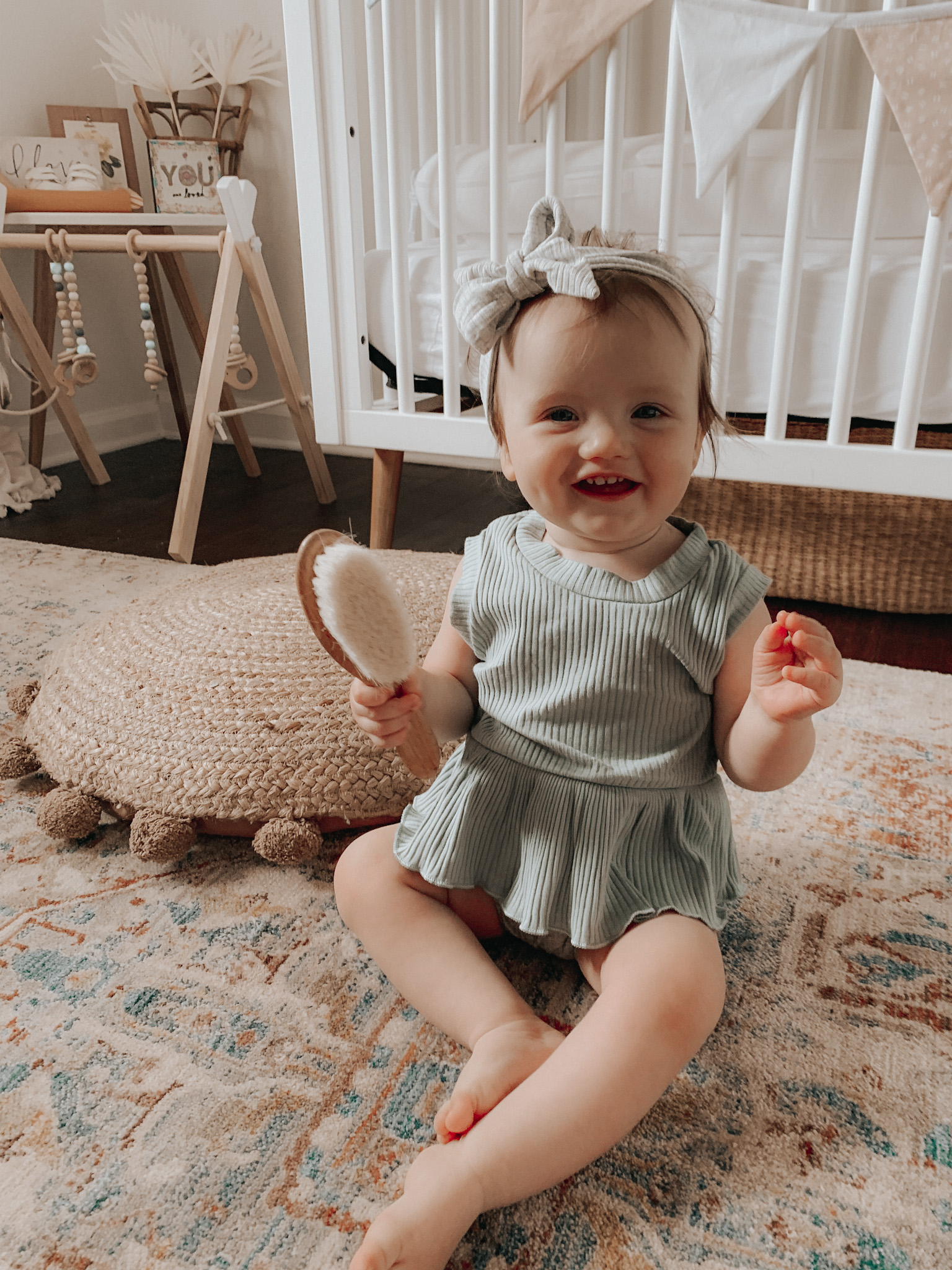 Baby Girl in Amazon Trendy Clothes