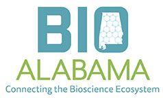 The blue and green logo for BioAlabama.