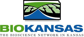 The blue and green logo for Biokansas