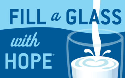 Congratulations Mary Braun: Fill a Glass with Hope