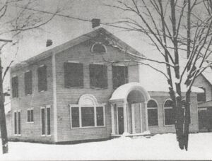 The original home of the Mount Morris Library.