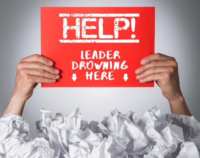 leadership. leadership crisis, leadership development, help leader drowning here