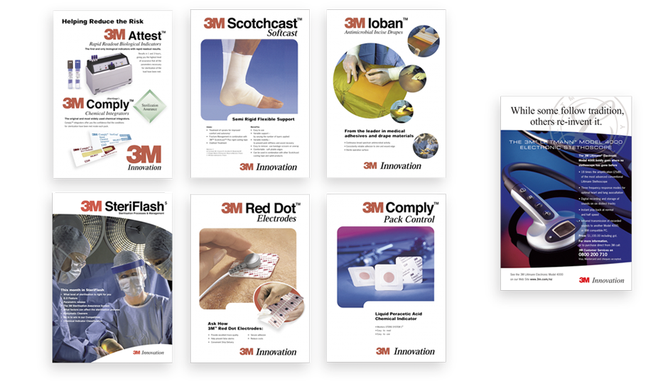 Concept and design for 3M Medical Division