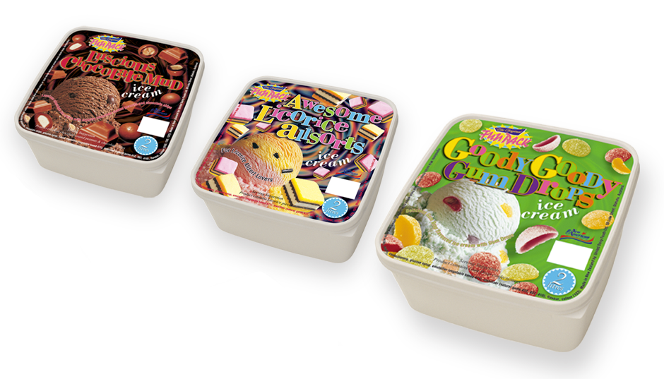 Ice Cream Packaging promotion and advertising