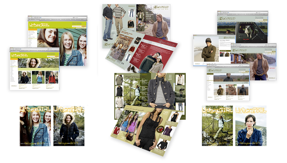 Urban Fashion sales and promotional concepts and design