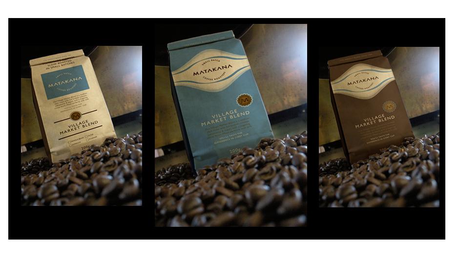 Coffee Packaging for Matakana Coffee Roasters