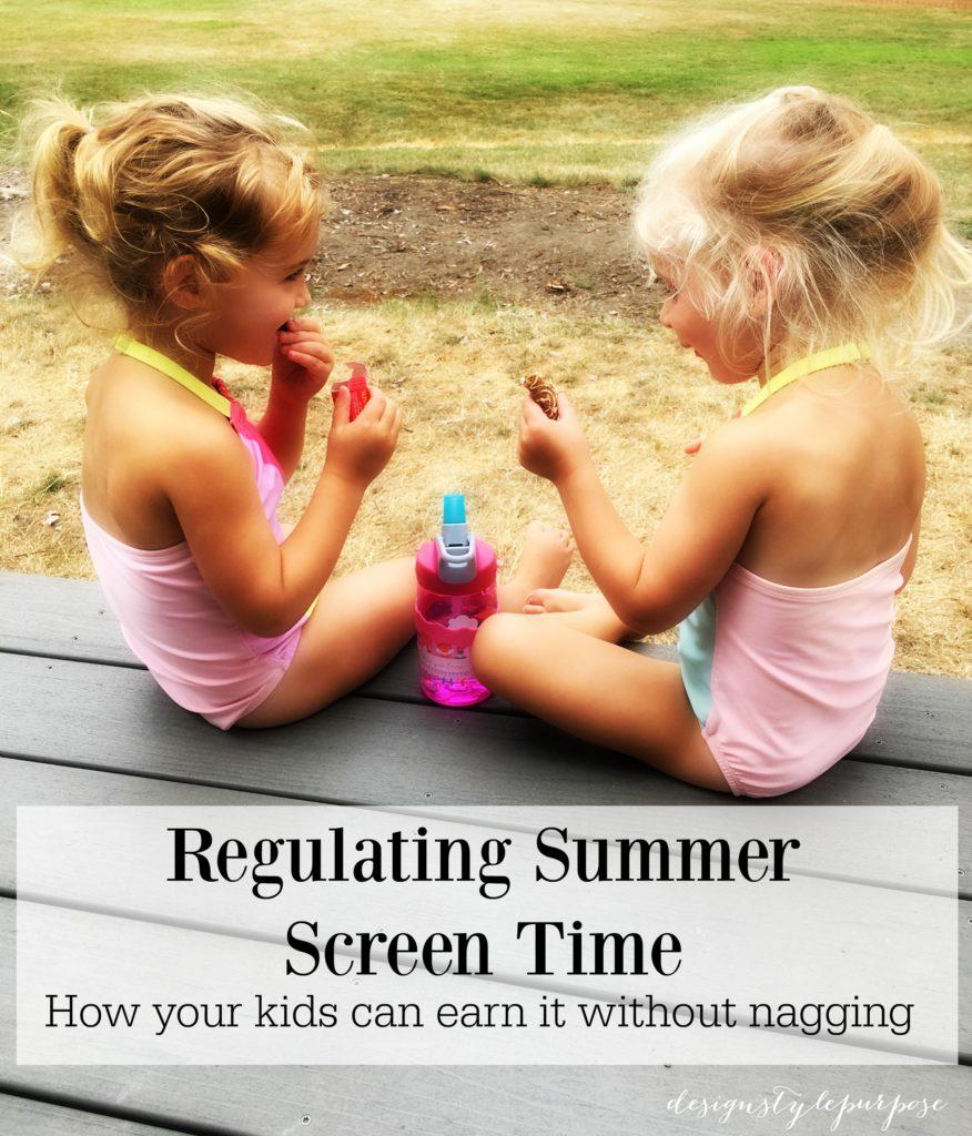Regulating Summer Screen Time