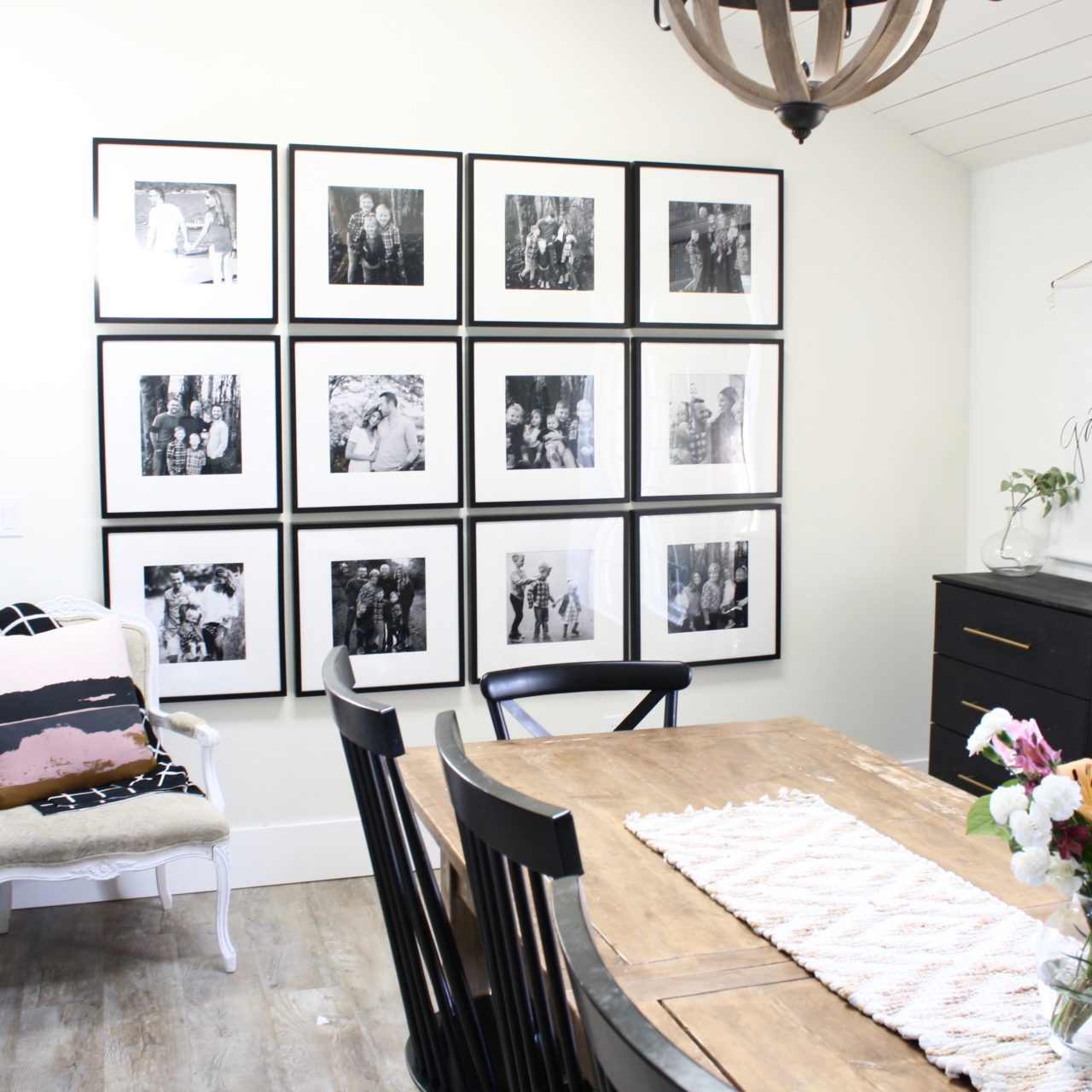 Creating Home: Gallery Wall In the Dining Room