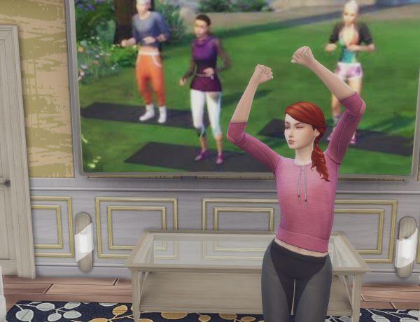 Adelise Fier exercising