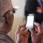 Phone Man Technology Senior Old