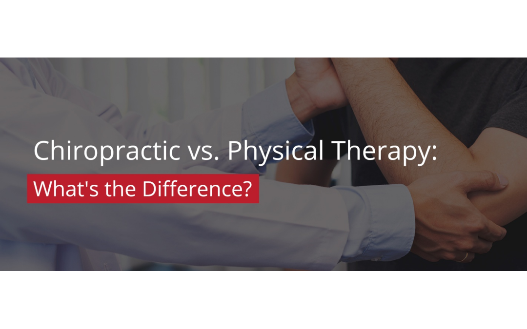 Chiropractic Vs Physical Therapy What's The Difference