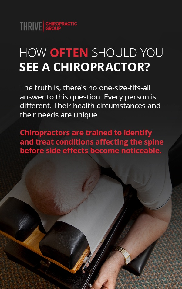 how often should you see a chiropractor