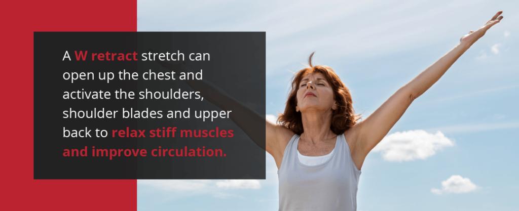 W Retract Stretch