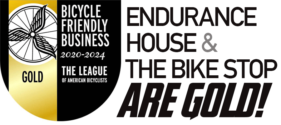Endurance House recognized with Gold Level Bicycle Friendly Business award