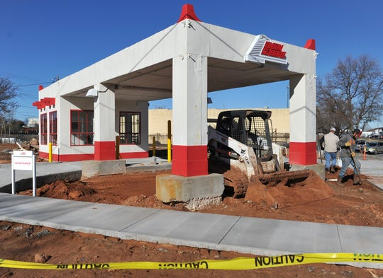 Vintage gas station in downtown Wichita Falls gets a new life