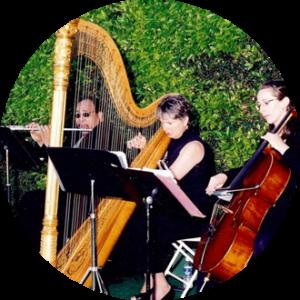 ojai flute cello harp trio