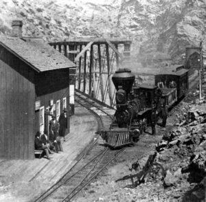 Narrow Gauge Railroad Idaho Springs