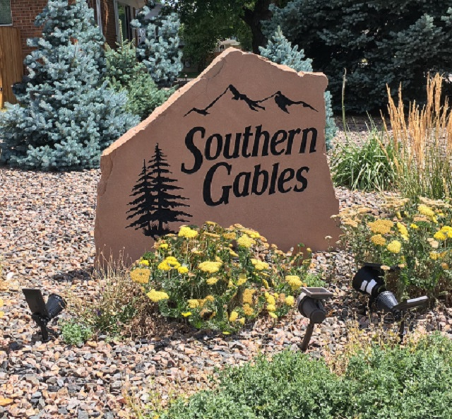 Southern Gables Sign