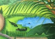 Zoo alligators