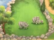 Zoo rhinos
