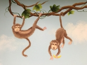 Zoo monkeys