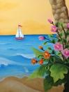 Beach sailboar