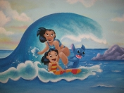 lilo-surfing
