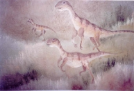 dinosaurs-running