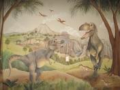 Dinosaurs-T-Rex gully