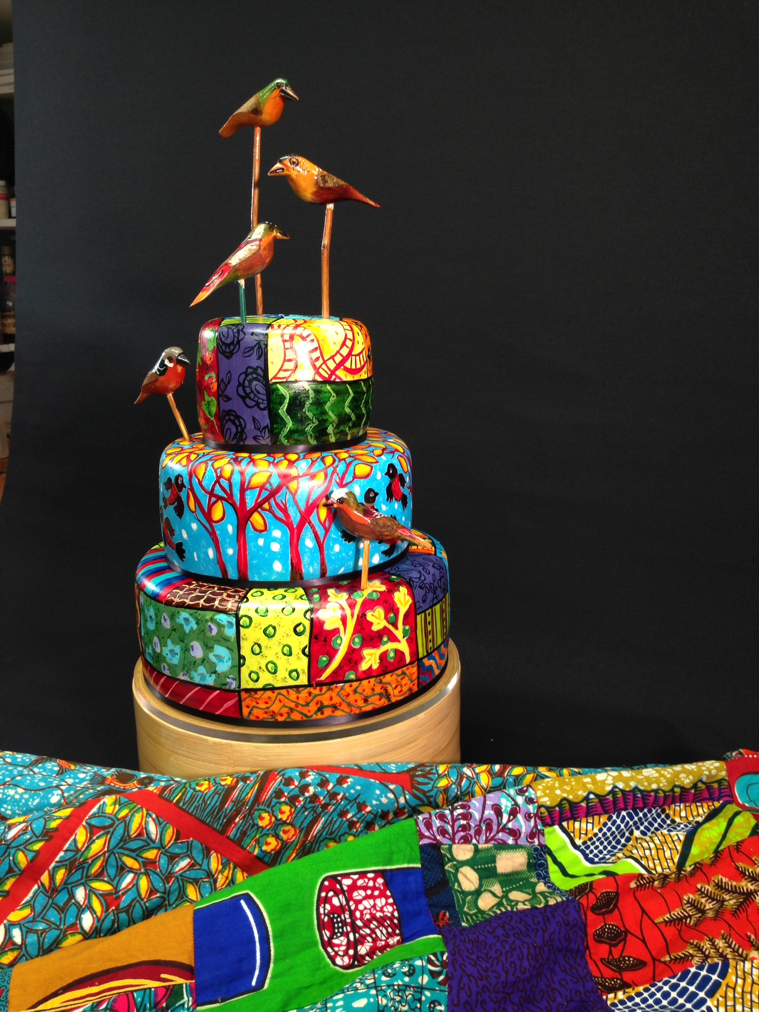 Cake - African quilt