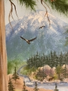 Eaglesy flying forest
