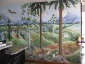 Forest trailer lobby