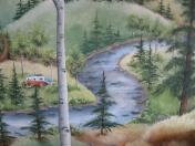 Forest trailer stream