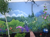 Garden - Wall 1