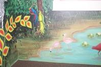 jungle-flamingos