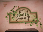 Lettering Herbs Health