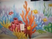 Ocean orange coral