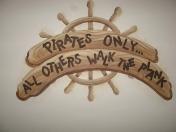 Pirate -walk plank